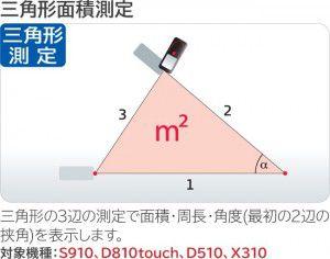 三角形面積測定