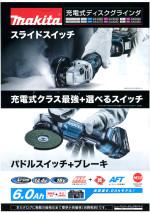 マキタGA403DRGNディスクグラインダー/GA407DRG