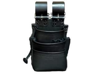 ニックス KB-301SPDX 自在型チェーンタイプ総グローブ革3段腰袋