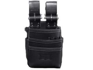 ニックス KBS-301DDX 自在型チェーンタイプ 総ヌメ革3段腰袋
