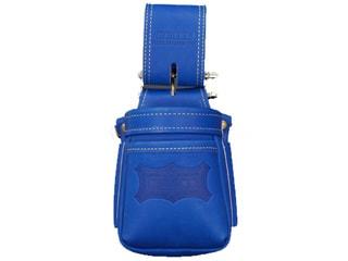 ニックス KGBL-201VADX グローブ革小物腰袋 ブルー