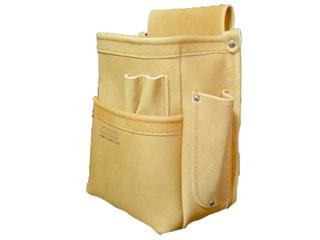 ニックス KN-201DDSP 総グローブ皮仕上腰袋フチ/総グローブ革テープ巻