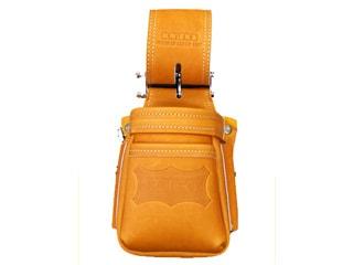 ニックス KGC-201VADX グローブ革小物腰袋〈VAストリッパーフォルダー〉(キャメル)